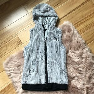 The North Face Hooded Fuzzy Vest